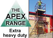 Apex scaffold tower range