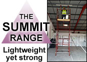 Summit scaffold tower range