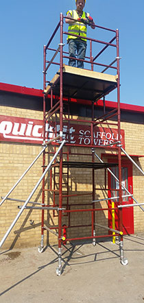 Quickfit Scaffold Apex scaffolding
