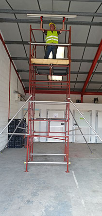 Quickfit Scaffold Summit scaffolding